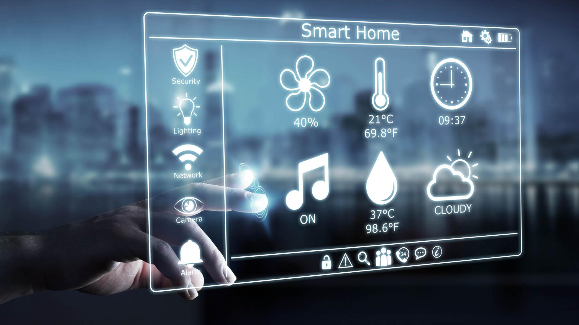 smart home systems trend zukunft goldwert immobilien. Black Bedroom Furniture Sets. Home Design Ideas