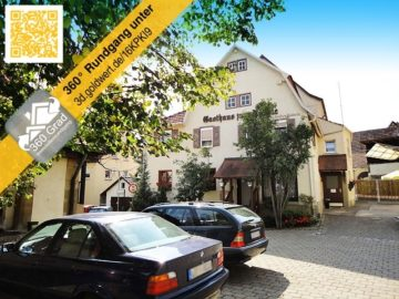 VERKAUFT: GOLDGRUBE sucht neuen Schnitzelkönig! 74379 Ingersheim, Gastronomie und Wohnung