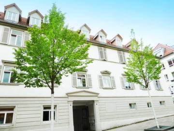 Verkauft: Altbauflair und kurze Wege – ideale Kapitalanlage! 71638 Ludwigsburg, Etagenwohnung